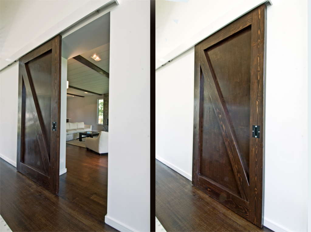 Barn Doors by Plum Builders